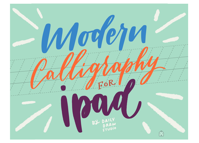 Modern Calligraphy with iPad by dailydraw studio